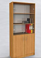 Шкаф со стеклянными дверцами , фото 1