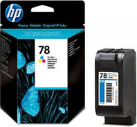 Картридж HP C6578A Tri-color Inkjet Print Cartridge №78XL for DJ930/950/970/1220/PS1215/1315/1280, 38 ml, up to 970 pages, 15%. ;