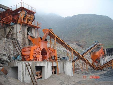 Дробильно-сортировочная установка производительностью в 30- 50 тонн в час из Китая в Казахстане