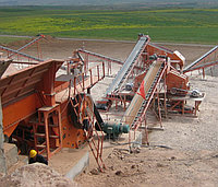 Дробильно-сортировочная установка производительностью в 400-500 тонн в час из Китая в Казахстане, фото 1