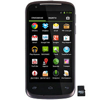 "Смартфон Gigabyte GSmart GS202 2Q000-00100-370S Dual SIM (4.3"" IPS, 800x480, Mediatek 6577 Dual Core 1GHz, 4GB/512MB, Android 4.0, SDHC, 5MP/0.3MP,"