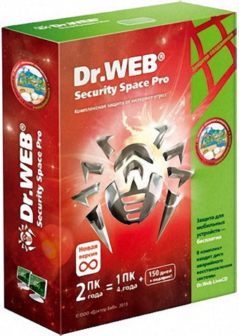 Dr.Web Security Space 2 ПК / 12 мес, фото 2