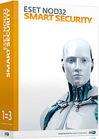 ESET NOD32 Smart Security 3 ПК / 12 мес
