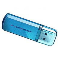 "Флеш-карта USB Silicon Power SP016GBUF2101V1B, USB Flash Drive 16GB ""Helios101"" (голубой)"