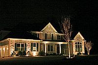 Архитектурное освещение,  проектирование, монтаж подсветки фасадов зданий