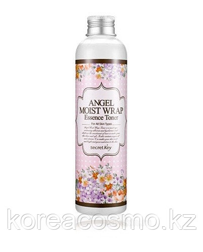 Эссенция тонер с ароматом жасмина Secret Key Angel Moist Wrap Essence Toner Jasmine