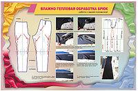Плакаты Влажно-тепловая обработка брюк, фото 1