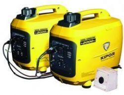 Генератор IG2600p KIPOR  (Номинальная мощность: 2,3 кВт, Максимальная мощность: 2,3 кВА)