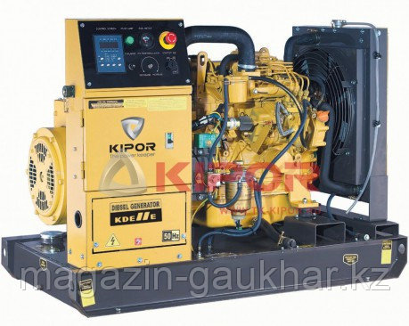 Электростанция KDE11E KIPOR  (Номинальная мощность: 8,5 кВт, Максимальная мощность: 8,5 кВА)
