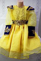 Детское казахское национальное платье для девочек, фото 1