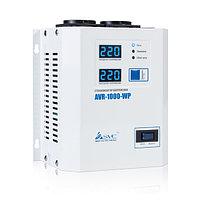 Стабилизатор (AVR), SVC, AVR-1000-WP(1000Вт), LED-дисплей, Диапазон работы AVR: 100-270В, 2 вых.: Shuko CEE7, Длина кабеля 1.2 м., Белый, фото 1