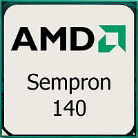 Процессор AMD S-AM3 Sempron 140 (2,7GHz)1C/1Th 1mb Cache oem