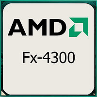 Процессор AMD S-AM3+ FX-4300 (3,8GHz/4,0GHz) 4C/4Th 4mb Cache oem
