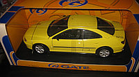 1/18 Gate Peugeot 406 Coupe Yellow