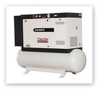 Компрессор винтовой электрический CS 110 D  (ресивер 500л), фото 1