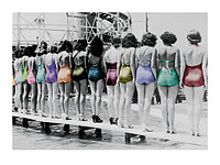 Photography Collection Coney Island Line-Up, 1935 60 x 80