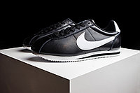 Кроссовки Nike Cortez Classic Leather Black White