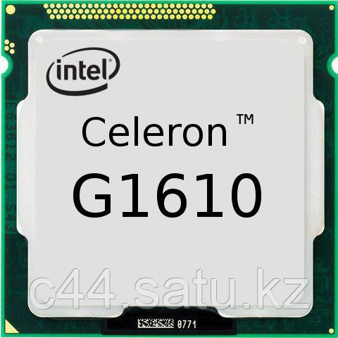 Процессор Intel S-1155 Celeron G1610 (2,6GHz) 2C/2Th 2Mb Cache HDG oem - ИП Калибр 44 (c44.kz) в Алматы