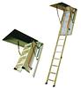 Установка (монтаж) чердачных лестниц