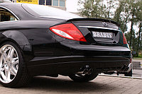 Спойлер Brabus на Mercedes Benz CL216