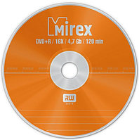 Диск DVD+RW Mirex  4.7 Gb 4x spindle