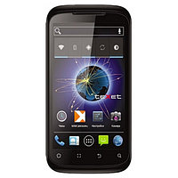 Смартфон Texet 4504-TM Black DUO (4.5'' TFT, 960x540, 4GB, Android 4.0, MT6575 1.0GHz, 512MB, 1700mAh, 5.0MP, 3G microUSB,  WiFi, Case)