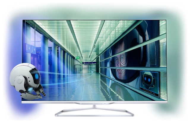 "Телевизор LED 55""/140 Philips 55PFL7108S/60"