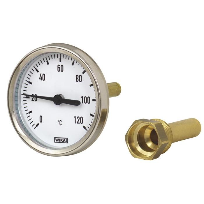 Термометр А4602 G1/2B NG 100 мм, WIKA