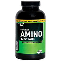 Аминокислоты OPTIMUM NUTRTION SUPER AMINO 2222, 160 TAB.