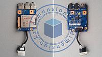 USB порт, плата, Audio разъем LENOVO Z570 Z575