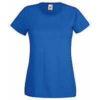 "Textile Футболка ""Lady-Fit Valueweight T"", синий_XL, 100% хлопок, 165 г/м2"