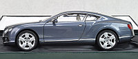 1/18 Minichamps Bentley Continental Gt 2011 Grey Metallic