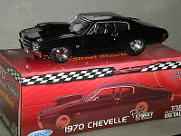 1/18 Welly Chevrolet Chevelle SS 454 1970