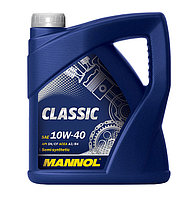Моторное масло MANNOL Classic 10W40 SN/CF 4L