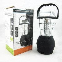 Кемпинговый фонарь ls-360, зарядка от солнца, сети 220в, автомобиля 12в, батареек 3xAA, динамо-машины, 36 led