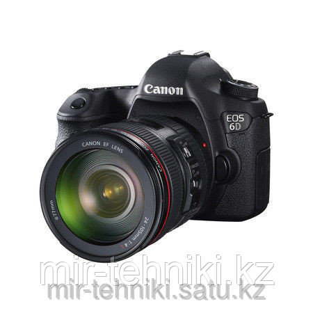 Фотоаппарат  Canon EOS 6D Kit 24-105 F/4 L IS II USM  WI-FI +GPS