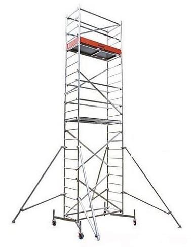 Передвижные подмости Stabilo, рабочая высота 10.4м