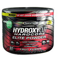 MuscleTech Hydroxycut Hardcore Elite Powder (30 порций)