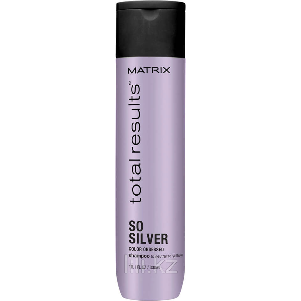 Шампунь для нейтрализации желтизны Matrix Total Results So Silver Color Obsessed Shampoo 300 мл.