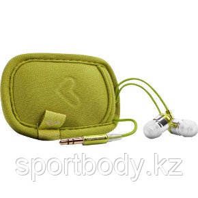 Наушники Energy Sistem Earphones Energy 300 Urban Kiwi Green (With neoprene case)  - Market Place в Алматы