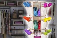 Органайзер-карусель для обуви и одежды
