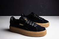 Кроссовки Puma X Rihanna Suede Creeper Black/Tan