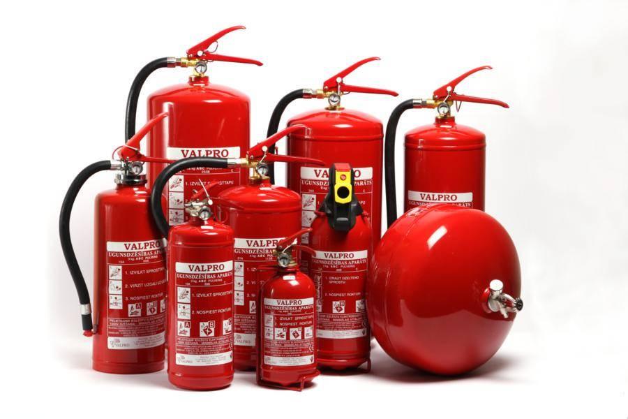 Перезарядка,ремонт и переосвидетельствование огнетушителей