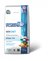 Сухой корм для собак мелких пород Forza10 Mini Diet Pesce (рыба)