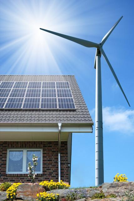 Гибридные - ветро-солнечные электростанции