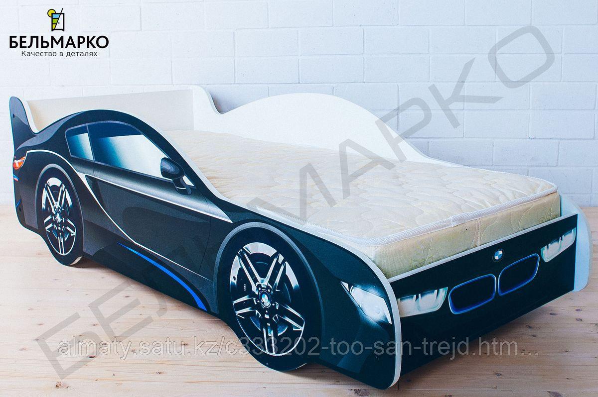 Детская кровать-машина «БМВ»