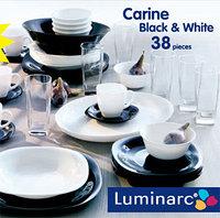 Столовый сервиз Luminarc carine white&black 38 предметов