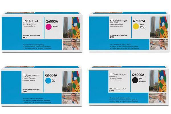 Картриджи Hp Q6000A, Q6001A, Q6002A, Q6003A.