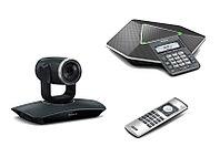Yealink VC110 (VCM40) Система видеоконференц связи, PTZ камера c кодеком, конференц телефон VCM40, фото 1