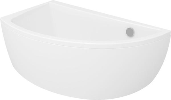 Акриловая ванна асимметричная Cersanit NANO 140 *75 см. правая/левая сторона